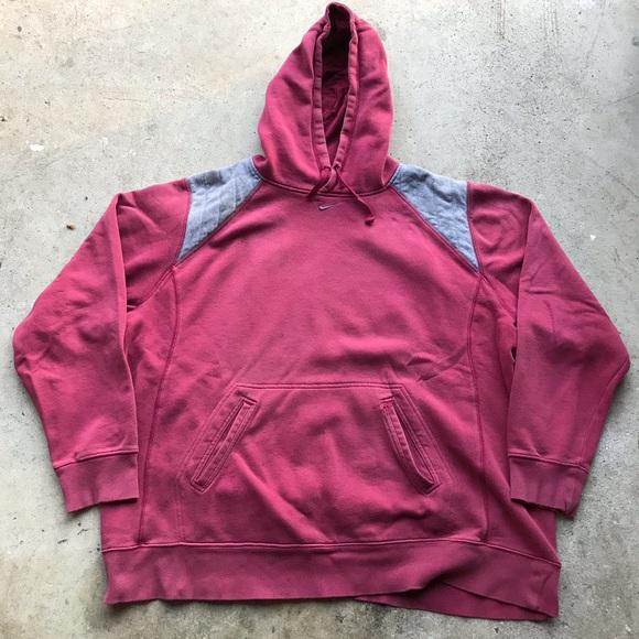 nike mini swoosh hoodie